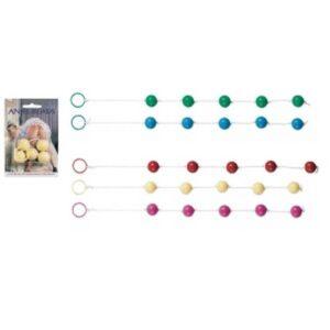 Pet plastičnih kuglica na uzici, promjer 2cm - Anal Beads