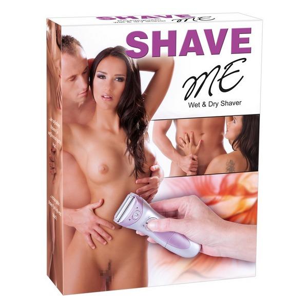 Brijač za intimno područje, za mokro i suho brijanje - Shave me
