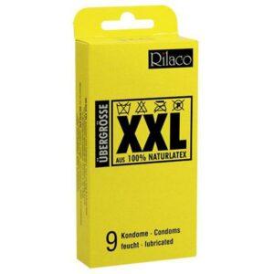 Kondomi 9 komada, veličina XXL - Rilaco XXL