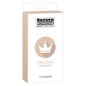 Kondomi 12 komada, dužina 18cm, promjer 5,2cm - Secura Original