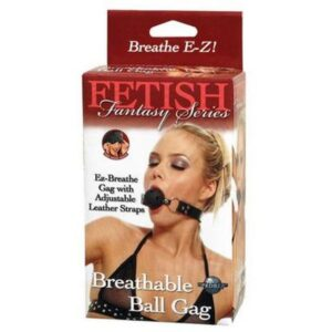 Ball gag s rupicama za disanje + maska za oči - FF Breathable Ball Gag