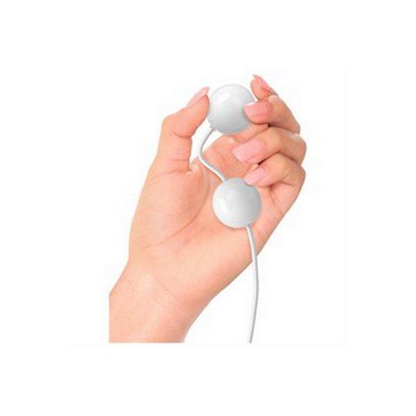 Vibrirajuće analne kuglice od ABS-a, 10,5 x 3,2cm - iSex USB Kegel Balls