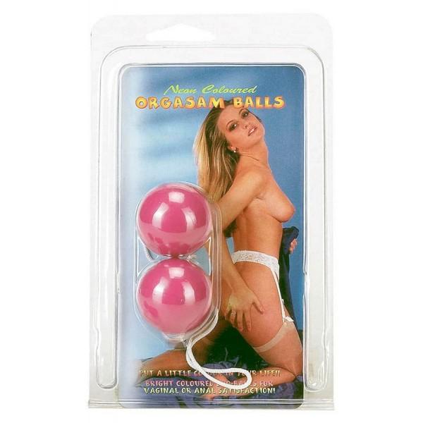 Kuglice vaginalne, od ABS materijala, promjer 3,5cm - Orgasm balls