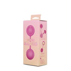 Kuglice vaginalne, silikonske, s vibratorom u jednoj kuglici - Bell Balls