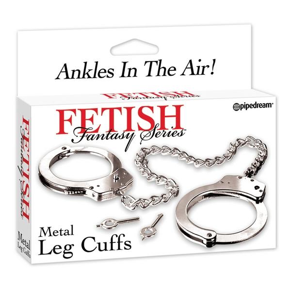 Lisice metalne za noge s dva ključa - Fetish Fantasy