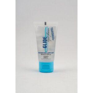 Lubrikant na bazi vode, bez mirisa, 30ml - Glide Hot