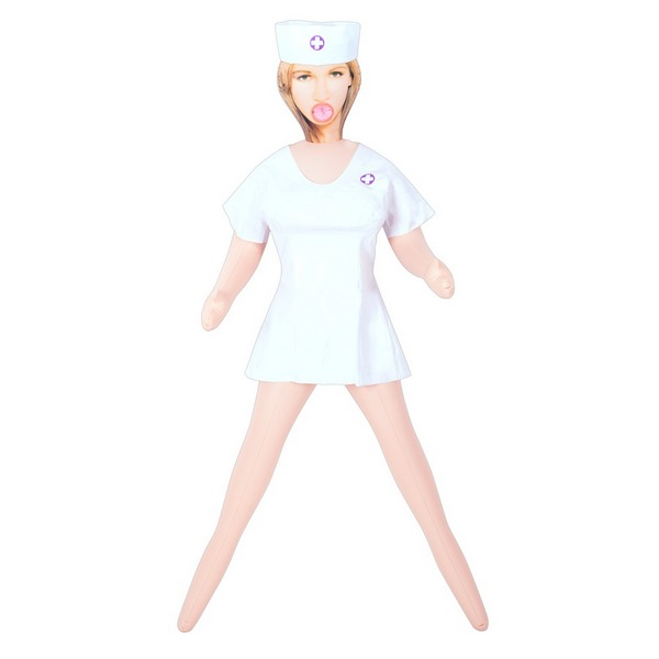 Lutka ženska u kostimu bolničarke, s tri otvora - My Perfect Nurse