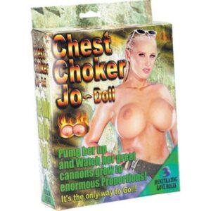 Lutka ženska s tri otvora i velikim grudima - Chest Choker Jo