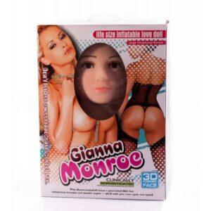 Lutka ženska u prirodnoj veličini, s 3D licem - Gianna Monroe