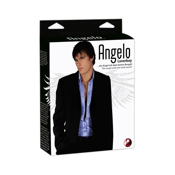 Lutka muška u prirodnoj veličini s penisom - Angelo Loverboy