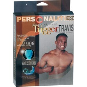 Lutka muška koja svjetli u mraku, s penisom na napuhavanje - Trigger Travis