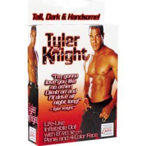 Lutka muška s penisom na napuhavanje od 20cm - Tyler Knight