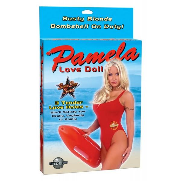 Lutka ženska s tri otvora - Pamela