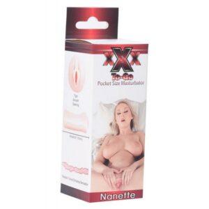 Silikonski masturbator, 10cm, rastezljiv - XXX To-go Nanette