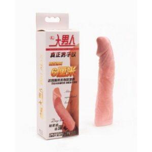 Navlaka za penis, produžuje penis za 6cm, od TPE/TPR materijala - Big Man