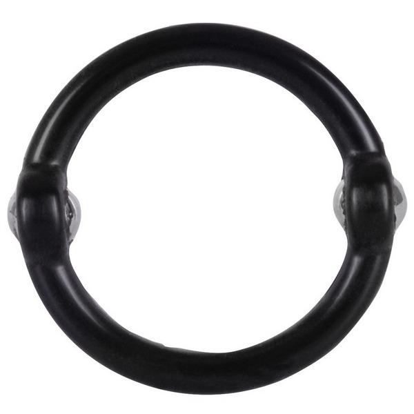 Prsten za penis s metalnim kuglicama za stimulaciju - Beaded Cock Ring