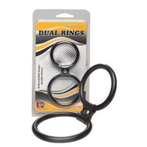 Dva povezana prstena, ze penis i testise - Dual Rings