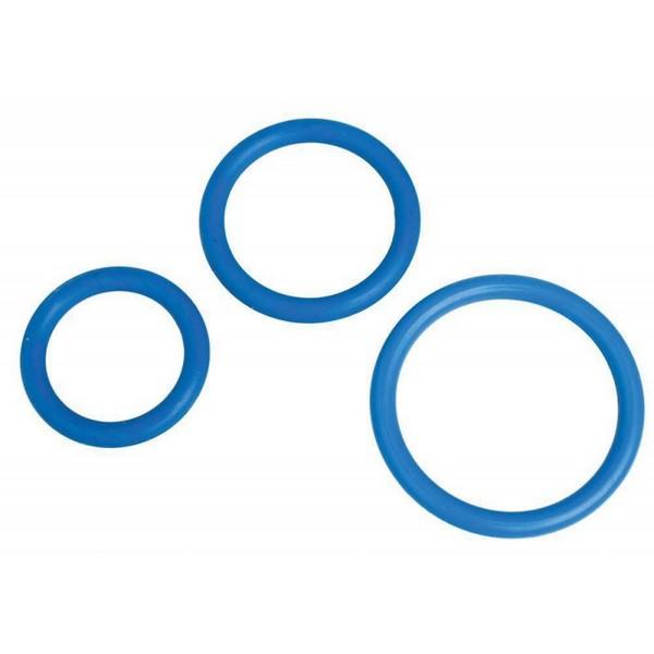 Set od 3 prstena za penis od silikona - MenzStuff