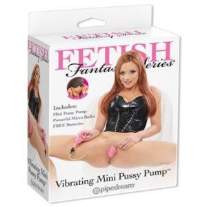 TPR pumpa za vaginu, s vibratorom - Vibrating Mini Pussy Pump
