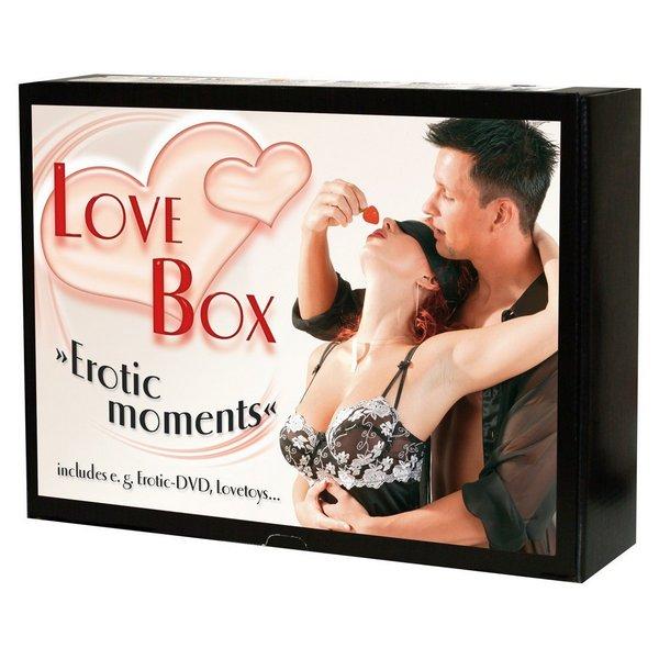 Set s erotskim rubljem, igračkama i DVD-om - Love Box
