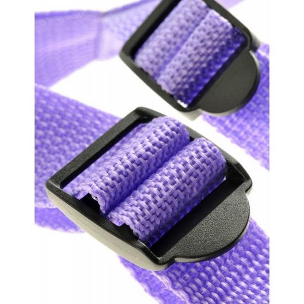 Strap-on s remenjem za bokove i ramena - Suspender Harness Set