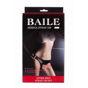 Strap-on s dildom od PVC materijala dužine 15cm - Jessica