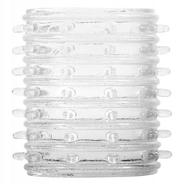 TPR elastične navlake za penis, 7 komada - Super Stretch Tickler Sleeves