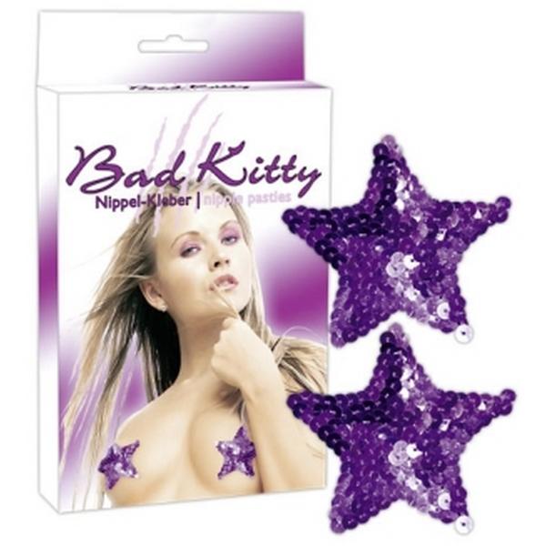 Ukras za bradavice u obliku zvijezde - Bad Kitty