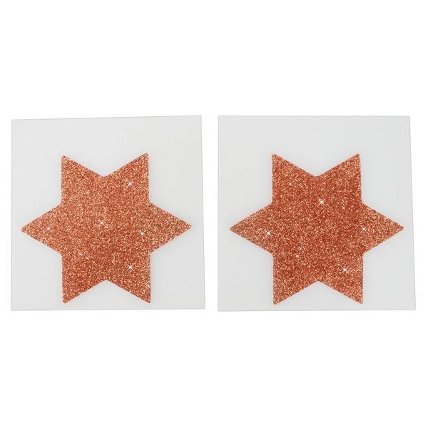 Ukras za bradavice u obliku zvijezde - Cottelli Collection