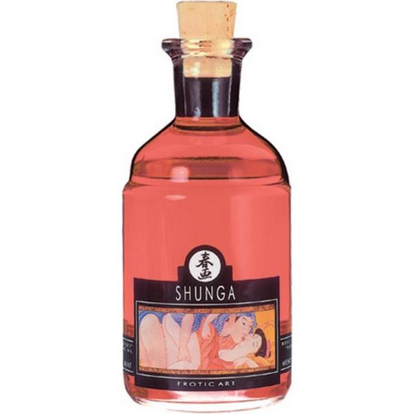 Masažno ulje s afrodizijakom, razni mirisi, 100ml - Shunga
