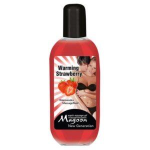 Ulje za masažu s efektom zagrijavanja, razni mirisi, 100ml - Magoon Warming