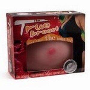 Umjetna dojka od TPR materijala, promjer 13,5cm, dubina 5,3cm - True Breast