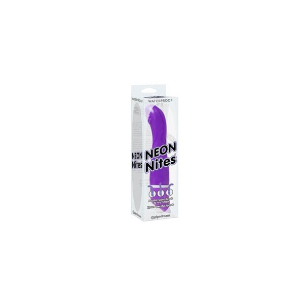 Vibrator vodootporni, 24,1 x 3,2cm, s baterijama - Neon Nites