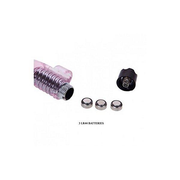 TPR mini vibrator za prst, 7,6 x 2,6cm, s baterijama - Finger Ring