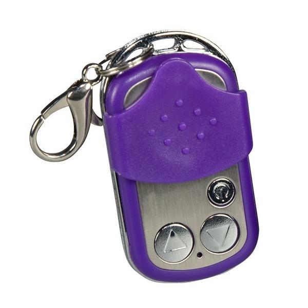 Vibrator jaje s 10 funkcija, 4,9x3,3cm - Purple & Silky