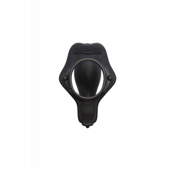 Prsten za penis s analnim stimulatorom, 7,8 x 4,3cm - Fantasy C-Ringz Rock Hard Ass-Gasm