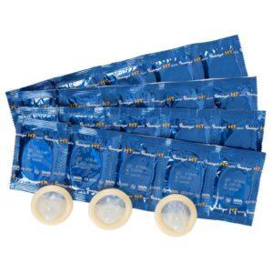 Kondomi ekstra debeli, sa spremnikom, dužina 17,5cm - HT Special