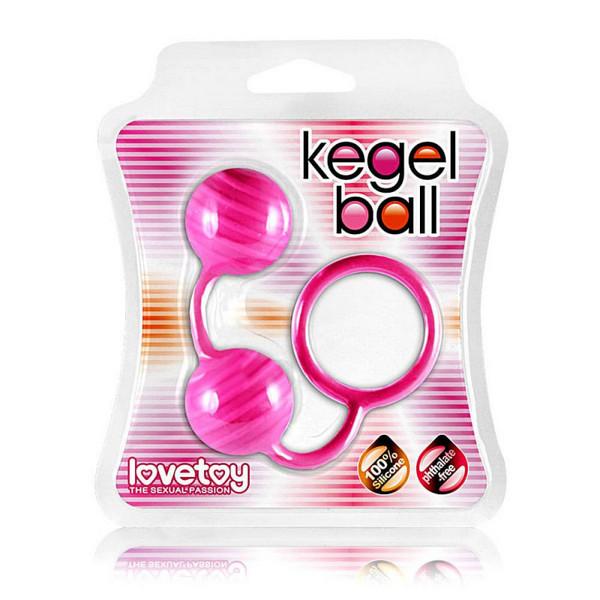 Kuglice s prstenom, vibrirajuće, dužina 17cm - Lovetoy Kegel Ball