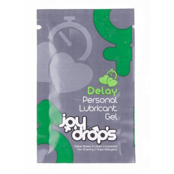 Lubrikant u gelu za produženje trajanja erekcije, 5/50ml - Joy Drops Delay