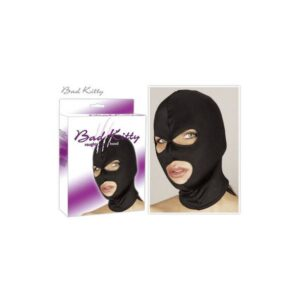 Poliesterska maska s prorezima za oči i usta - Bad Kitty