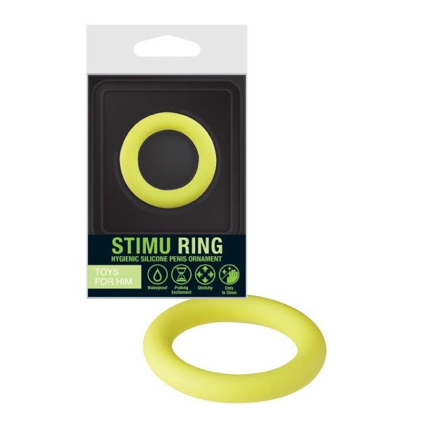 Prsten za penis silikonski, vodootporni, rastezljivi - Stimu Ring