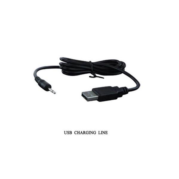 Analni stimulator s vibratorom, 15,5x4cm, USB punjenje - Pretty Love