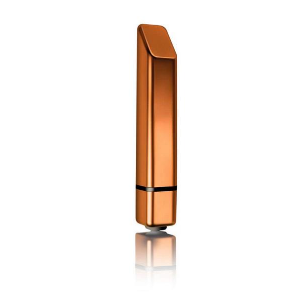 Vibrator od ABS plastike, 10 x 1,5cm, s baterijama - Bamboo